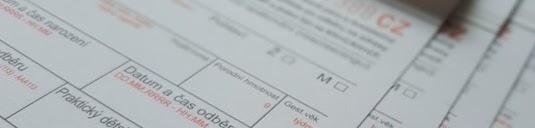 Odběrová kartička na novorozenecký laboratorní screening